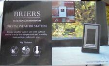 Briers Digital Interior Estación Meteorológica con sensor exterior