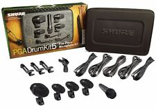 Shure PGADrumKit5 Drum Instrument Microphone Set Mic PGA Drum Kit 5