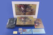 Eduard 11102 1:48th Dawn Patrol SPAD XIII & Fokker D.VII 2 combo kit + Art Print