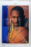 1996 96-97 SP KOBE BRYANT Rookie Card RC #134, Sharp Black Mamba ! Lakers