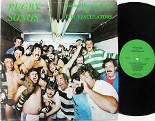 The Ejaculators Rugby Songs LP Canadian WARNING REALLY OBSCENE near mint vinyl