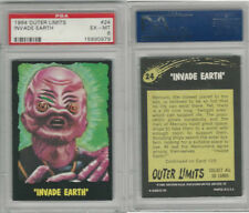 "1964 Bubbles Inc, Outer Limits, #24 ""Invade Earth"", PSA 6 EXMT"