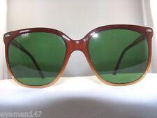 "Vintage Maui Jim ""CAT EYE""Frame with Solid Green 80% Lenses 100% UV PROTECTION"