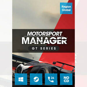 Motorsport Manager GT Series DLC for PC Game Steam Key Region Free