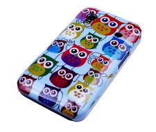 Schutzhülle f Samsung Galaxy Ace S5830 Case Cover Tasche Owl kleine Eule süß