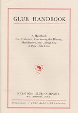 Glue Handbook - for craftsmen, history, manufacture, correct use of pure glue CD