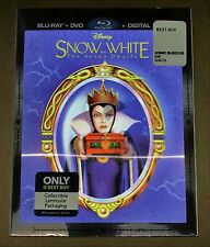 New Disney Snow White & 7 Dwarfs Blu-ray/DVD Bestbuy Exclusive w/Lenticular Slip