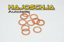 10 x Anillo De Cobre Junta oelablasschraube cárter aceite 14 20mm Audi Vw Seat