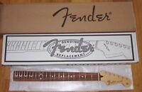 "Fender® MIM STD Strat Maple/Pau Ferro Neck~21 MJ Frets~9.5 Radius~""C""~Brand New"