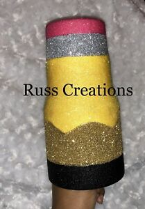 Custom Pencil Tumbler Cup 30oz Teacher Gift