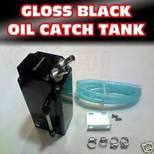 Black OIL CATCH TANK PCV + Fitting Kit Removes Sludge