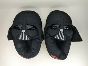 Star Wars Darth Vader Youth Slippers Size L 2-3