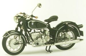 BMW R69S With Single Seat (Black) 1:10 Schuco