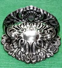 Superb Silver Plate c1900 Art Nouveau Entree Handle Paperweight Scallop Shell