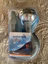 Waterpik Power Spray 6 Spray Settings With Optiflow-Flexneck-New In Package