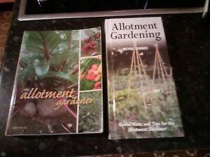2 ALLOTMENT GARDENING BOOKS - HOW TO GROW, THE PLOT, VEGETABLES, HERBS, FRUIT,