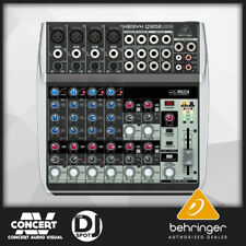 Behringer Xenyx Q1202USB Q 1202 12ch Mixer with USB Interface - 3 YEAR WARRANTY