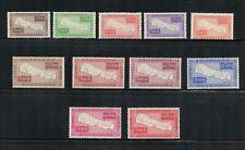 Z099 Nepal 1954 Maps SHORT-SET 11v. MNH