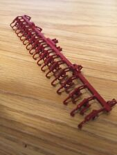 1/64 Scale Custom Red 16 Row Crop Cultivator