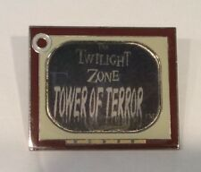 Disney Dlr The Twilight Zone Tower of Terror - Television Set (Lenticular) Pin