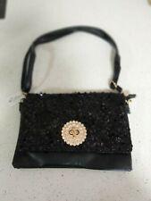 amazing leather shiny black Amor fashion womens handbag