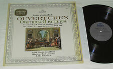 BACH Overtures no. 2 & 3 LP Archiv Germany Vinyl AURELE NICOLET KARL RICHTER NM