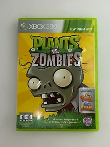 Plants vs. Zombies (Platinum Hits) - Xbox 360 Game - Complete & Tested