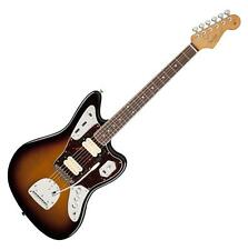 Fender Kurt Cobain Jaguar RW Artist E-Gitarre HH Sunburst Hardcase Koffer Buch