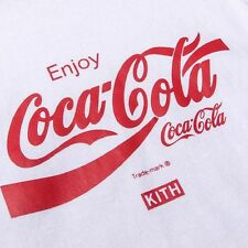 KITH X COCA-COLA USA TEE WHITE - SMALL
