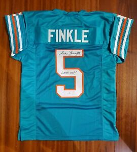 """Sean Young """"Ray Finkle"""" Autographed Signed Jersey Miami Dolphins PSA DNA"""