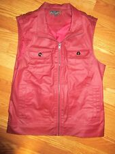 MEN'S G BY GUESS VEST SIZE LARGE GREAT CONDITION*