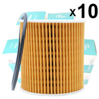 10Pc Oil Filter 1275810 For Volvo S60 S40 2.4 / XC90 04-05 2.9 / XC70 03-07 2.5L