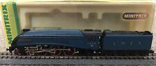 Minitrix (N214) N Gauge Class A4 4-6-2 4498 'Sir Nigel Gresley' in LNER Blue