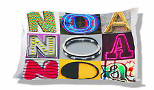 Personalized Pillowcase featuring NOA in photo actual sign letters