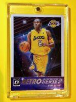 Kobe Bryant OPTIC RETRO SERIES SPECIAL INSERT HOT LAKERS CARD #23 - Mint!