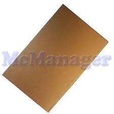 Double Sided Copper Clad For PCB /Epoxy Glass Fibre/Thickness:1.6mm 100x160mm