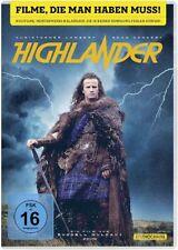 HIGHLANDER (Christopher Lambert, Sean Connery) NEU+OVP