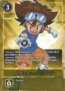 1x Tai Kamiya - BT4-094 - BOX TOPPER PROMO Digimon Digimon Promos NM Regular