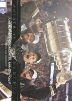 2013-14 SP Authentic Hockey #194 Corey Perry/Ryan Getzlaf/Dustin Penner AM Ducks