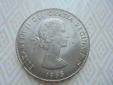1965 Winston Churchill UK CROWN  COIN Elizabeth II DEI GRATIA REGINA