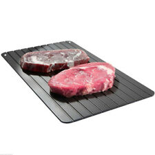 Fast Defrosting Tray Frozen Meat Defrost Food Thawing Plate Safe Board Tool New