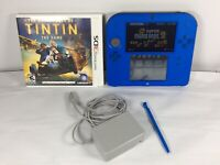 Nintendo 2DS Blue Handheld Console Super Mario Bros 2 With Charger and 1 Game