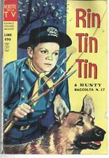 RIN TIN TIN  17 VEDETTE DELLA TV 1967 CENISIO
