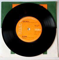 "EX/EX Elvis Presley I'M LEAVIN' b/w HEART OF ROME (RCA 2125) 7"" VINYL 45"