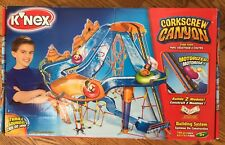 K'NEX UNUSED SEALED BAGS Corkscrew Canyon Tube Park Building System Set