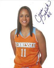 CIERRA BURDICK signed 8 x 10 photo WNBA Tennessee Basketball LADY VOLS Free Ship
