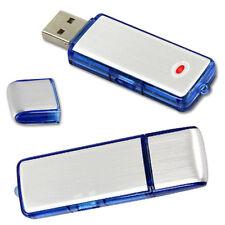 New 8GB Digital Voice Audio Recorder Dictaphone USB Flash Drive Sound record AU
