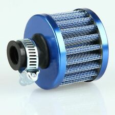 "0.47"" 12mm Red Car Motors Cold Air Intake Filter Cleaner Vent Blue Color New"