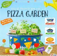 Childrens Grow Your Own Garden Herbs Pizza Toppings Set & Pot Painting Craft Kit