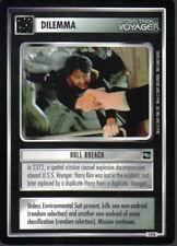 STAR TREK CCG VOYAGER RARE CARD HULL BREACH